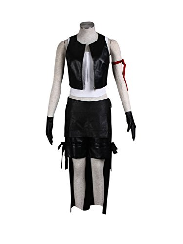 Mtxc Women's Final Fantasy VII Cosplay Costume Tifa Lockhart 1st Size Medium (Final Fantasy 7 Costumes)