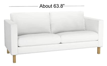 Amazon.com: Heavy Cotton Karlstad 2 Seater Loveseat Sofa ...