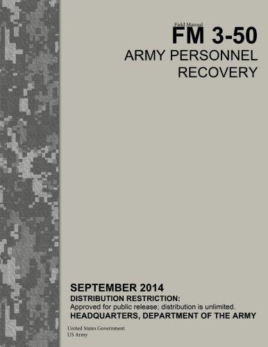Field Manual FM 3-50 Army Personnel Recovery September 2014