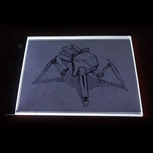 Dljyy Digitale Zeichenplatte A4 Größe LED-Schreiben Tablet großer Bildschirm, elektronisches Digital-Zeichenbrett Doodle Pad for Büro-Schule Startseite
