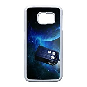 Samsung Galaxy S6 Edge Phone Case White Doctor Who VMN8169283