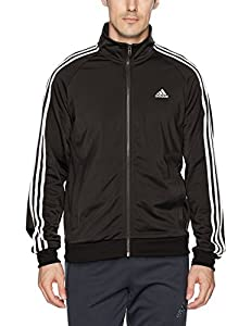 adidas Essentials 3S Tricot Track Jacket Men's All Sports XLT Collegiate Navy-White