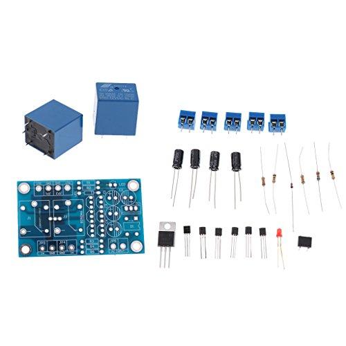 スピーカー保護ボード 2チャンネル スタート 遅延 ボード AC 12-15V 15A PCB材質