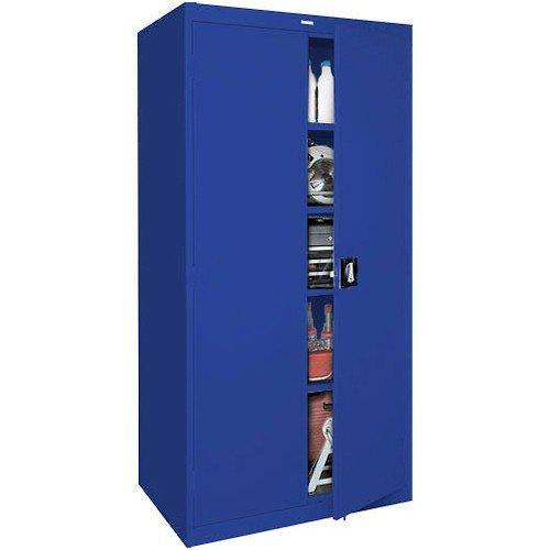 Sandusky Lee EA4R361878-06 Welded Steel Elite Storage Cabinet with Adjustable Shelves, 18