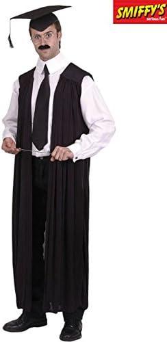 Smiffys Disfraz o Toga de Maestro para Adultos: Amazon.es ...