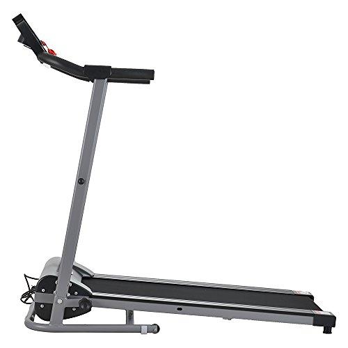 Lovinland Electric Treadmill Portable Professional Fitness Equipment Indoor Running Machine Home Gym (500w)