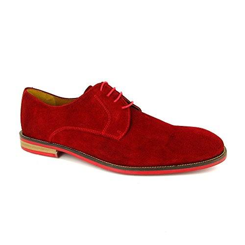 J.Bradford Calzado Derby Frenchi rojo