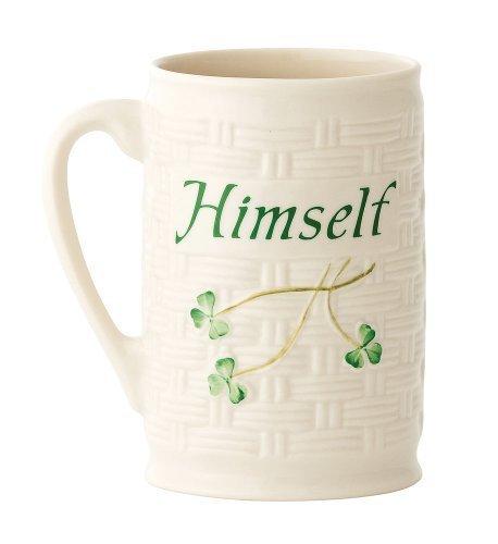 Belleek Himself Mug, 4.5 by Belleek