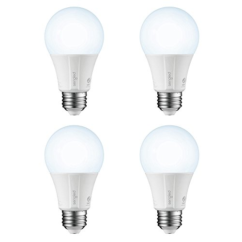 - Sengled Smart LED Daylight A19 Bulb, Hub Required, 5000K 60W Equivalent, Works with Alexa, Google Assistant & SmartThings, 4 Pack