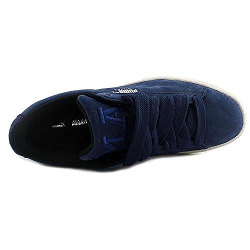 États De Puma X Vashtie Mens Cuir Bleu Lace Up Baskets Chaussures 9.5