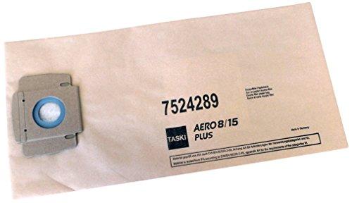Taski 7524289 Staubbeutel, Papier für Aero, 10 Stück