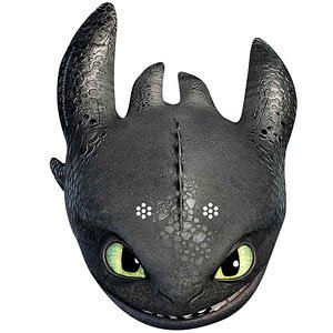 Cómo entrenar a tu dragón desdentado máscara