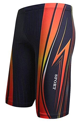 AIEOE-Mens-Swim-Jammers-Quick-Dry-Training-Swim-Jammer-Swimsuit-Trunk