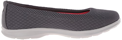 Shoe Women's Charcoal Skechers Go Walking Step Challenge Mesh Performance anfqTxO