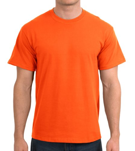 PEDD Gildan Adult Ultra CottonTM T-Shirt Safety Orange