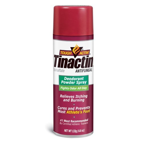 Tinactin Athletes Foot Deo Spray Powder (Pack of 9)
