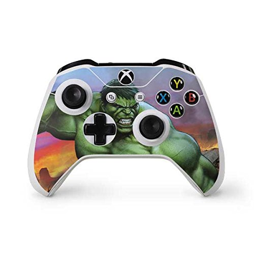 Marvel Hulk Xbox One S Controller Skin - Hulk Flexing Vinyl Decal Skin For Your Xbox One S Controller