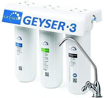 Geyser -3 LUX filtro de agua directo de 3 etapas, purificador de ...