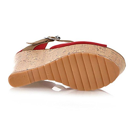 De Tacon Coolcept Bombas Cuna Mujer Red Zapatos UEawqOT