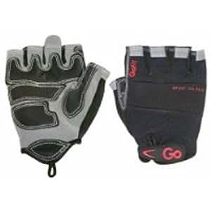 GoFit Men's Pro Sport-Tac Glove - Black/Gray- M