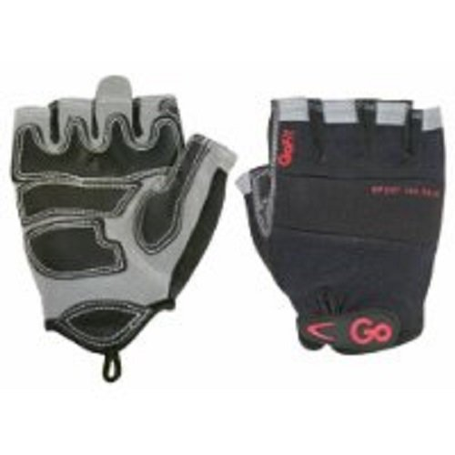 GoFit Durable, Comfortable Weight Lifting Glove Men's Sport-Tac Pro Trainer Glove - Large