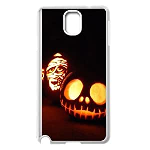Samsung Galaxy Note 3 White phone case Halloween Pumpkin The best gift DVE7634186
