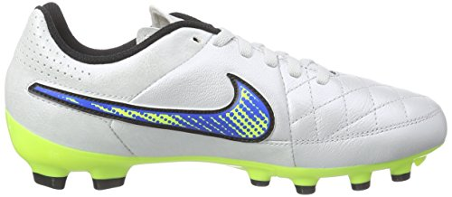 Ground Firm Boots White volt Unisex Kids' black soar Genio Leather Football Tiempo Nike 174 White xqHtII