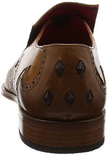 Jeffery West JB26 Scarface Tequila Calf, Zapatos Hombre Marrón (Tan)