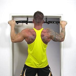 Türreck, Klimmzugstange, Trainings Gerät für Türrahmen, bis 130 kg belastbar,...