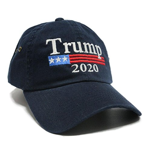 Trump 2020 Keep America Great MAGA hat Cap Made in The USA! (Navy)