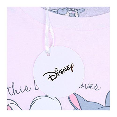 due pezzi Donna Pigiama Bambi Disney p8xARR