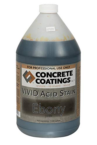 VIVID Acid Stain - 1 Gal - Ebony (Almost -