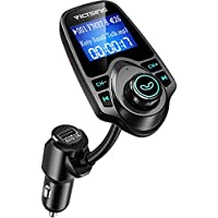VicTsing Bluetooth FM Transmitter With USB Car Charger