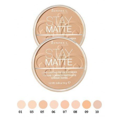 Gesichtspuder Kompaktpuder für das Gesicht Stay Matte N010 Warm