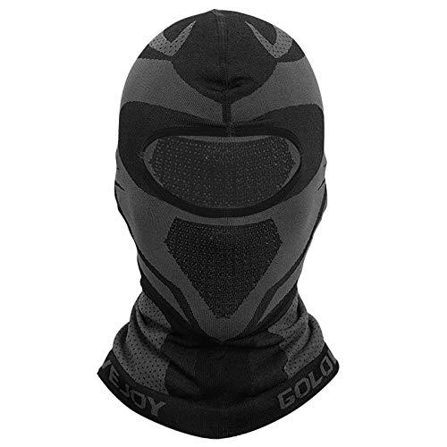 CosyInSofa Sturmhaube, winddichte Skimaske, Winter-Thermo-Fleece, vollständige Abdeckung, Motorrad-Gesichtsschal