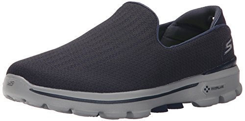 Skechers Rendimiento Go Walk 3 ecualizador Darth zapato que camina Navy/Gray