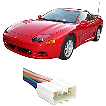 fits mitsubishi 3000gt 1994 1999 factory stereo to aftermarket radio harness adapter. Black Bedroom Furniture Sets. Home Design Ideas