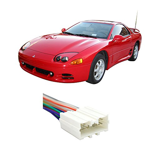 Mitsubishi 3000gt Aftermarket - Fits Mitsubishi 3000GT 1994-1999 Factory Stereo to Aftermarket Radio Harness Adapter