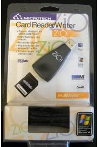 Zio MultiMedia Card Reader//Writer