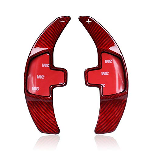 Topsmart Carbon Fiber Car Steering Wheel Shift Blade Paddle Shifter Extension For Benz ()
