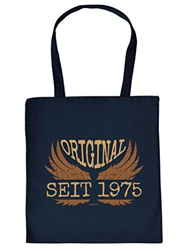 ORIGINAL SEIT 1975 :Tote Bag Henkeltasche. Beutel mit Aufdruck. Tragetasche, Must-have, Stofftasche, Geschenkidee