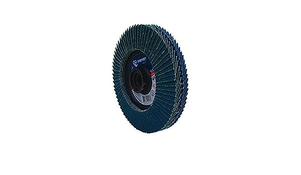 4-1//2 OD Depressed Taipan Abrasives TP-5846  Zirconia Platinum Twin Flap Disc 80//120 Grit 5//8-11 Arbor 4-1//2 OD 5//8-11 Arbor