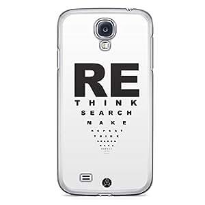 Ankit Samsung Galaxy S4 Transparent Edge Case - Design15