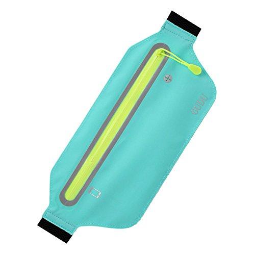 ç Teléfono Cielo Ligera Bolsa LanLan Bolsos Deporte Guardar para multifunción Azul Durante de Impermeable Waistbag Bolsa Correr q4Uw7UZX