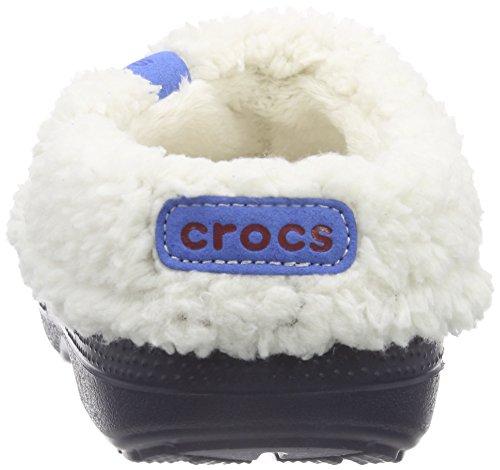 Crocs Blitzen Ii Clog K - Zuecos de goma Blu (Navy/Oatmeal)