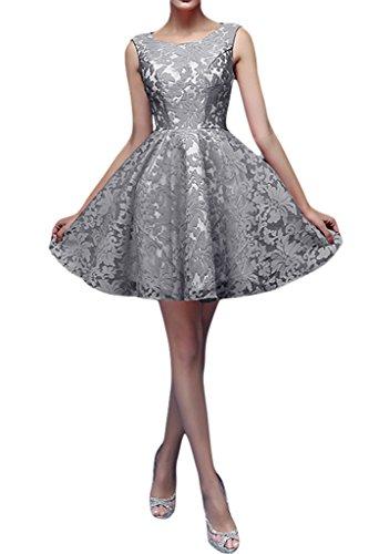 Missdressy - Vestido - trapecio - para mujer gris
