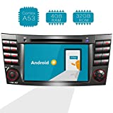 Amaseaudio Upgrade 7 Inch TFT LCD Android 7.1 2GB RAM Car GPS Navigation System Units for Mercedez-Benz E-Class W211/CLS-Class W219 In Dash 2 Din Stereo DVD Player