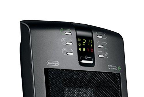 Delonghi Dch5090er Compact Digital Ceramic Heater Black