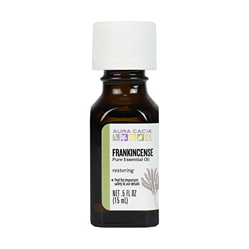 Price comparison product image Aura Cacia Essential Oil,  Meditative Frankincense,  0.5 fluid ounce