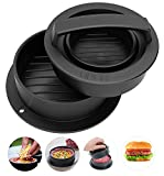 #4: CandyHome Stuffed Burger Press Hamburger Patty Maker for Sliders, Stuffed Burgers and Patties 3 in 1 Burger Press for Cooking on The Barbecue